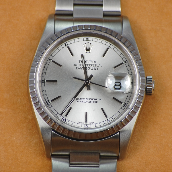 Gents Rolex Datejust Oyster Perpetual Watch in Watches from Coopers Jewellery, North Devon