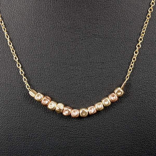 Aviv Gold Plated Necklace in Silver Jewellery from Coopers Jewellery, North Devon