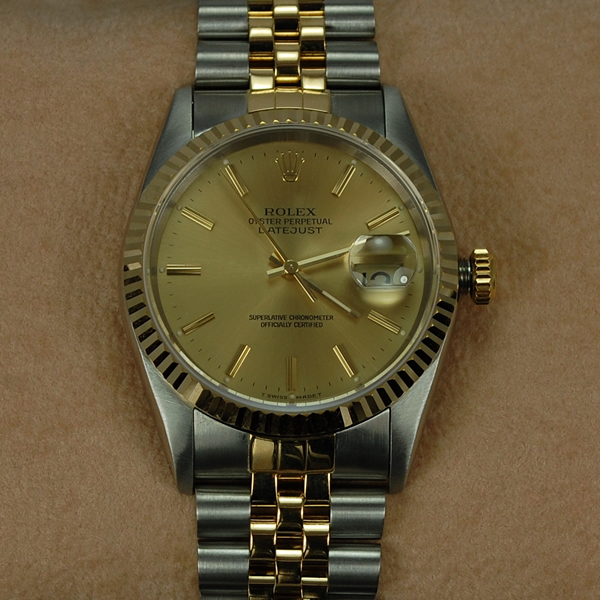 Rolex Gents Steel and Gold Datejust  in Watches from Coopers Jewellery, North Devon