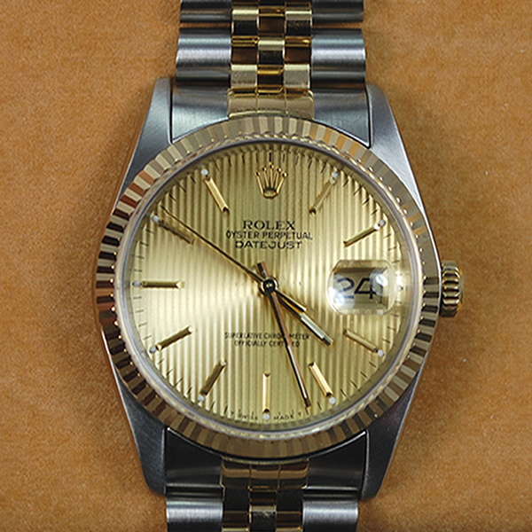Gents Rolex Datejust Steel and Gold in Watches from Coopers Jewellery, North Devon