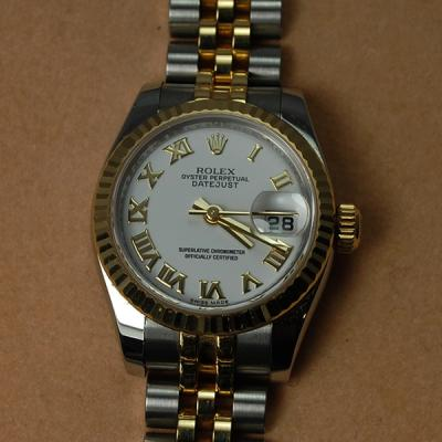 Ladies Rolex Oyster Perpetual Datejust  in Watches from Coopers Jewellery, North Devon