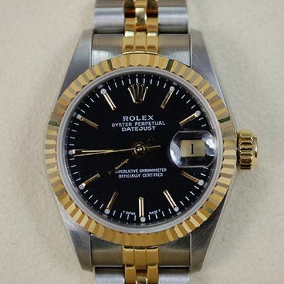 Rolex Ladies Steel and Gold Datejust  in Watches from Coopers Jewellery, North Devon
