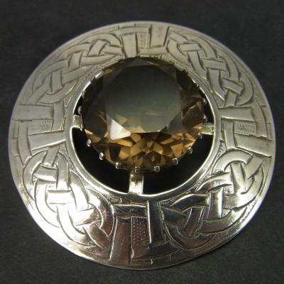 Vintage Scottish Silver Brooch in Vintage Jewellery from Coopers Jewellery, North Devon
